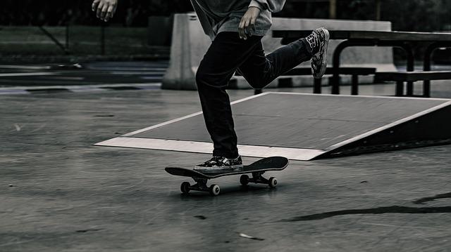 Bild von Skateboard Test