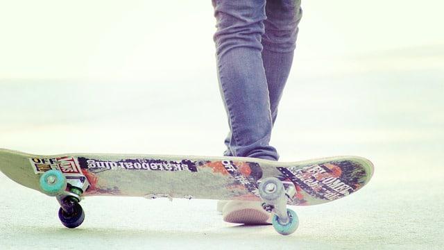 Bild von Skateboard fahren lernen